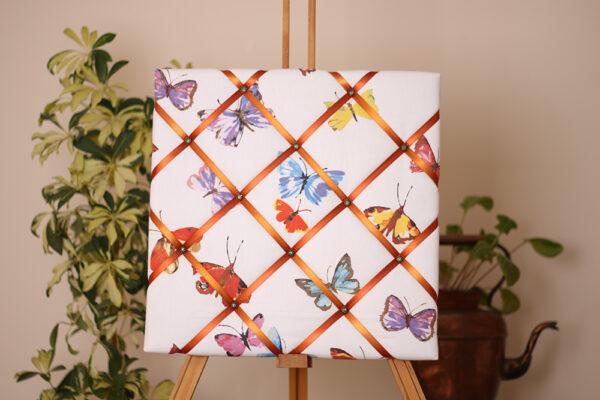 Multicoloured Butterflies Noticeboard