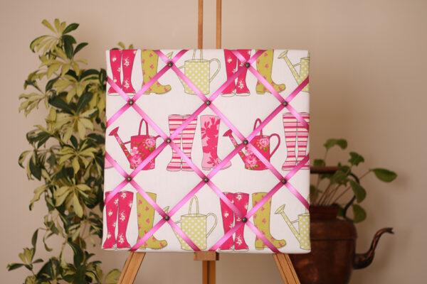 Pink Wellies Noticeboard