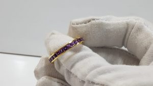 Amethyst Gold Ring