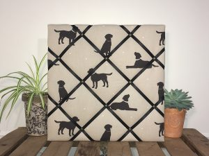 Black Labrador Noticeboard