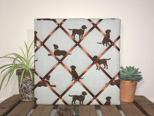 Brown Labrador Noticeboard