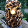 The owl soft toy accompanies Sue's fifth book: Owl to the Rescue