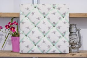 Sage Green Bees Noticeboard