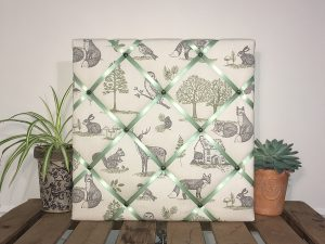 Sage Green Woodland Noticeboard