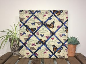 Vintage Butterflies Noticeboard