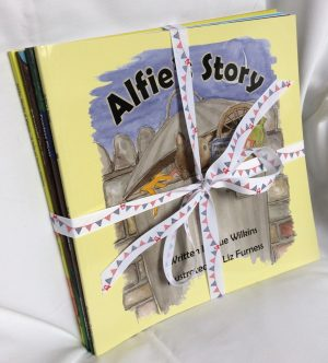 Gift set of all 5 books, signed by the author