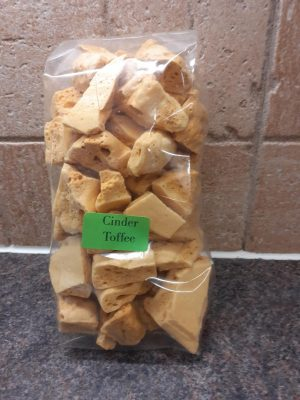 Very tasty Cinder toffee