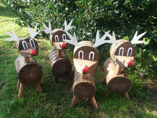 Handmade Christmas Reindeer